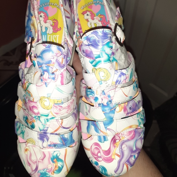 Iron fist my little pony platform shoes